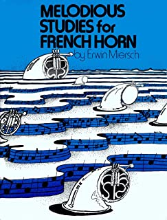 O4776 - Melodious Studies for French Horn (German Edition)