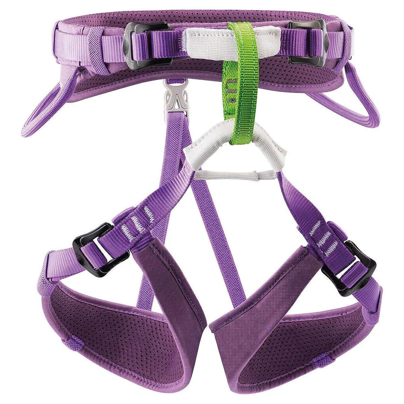 PETZL Macchu Kids' Climbing Harness, Raspberry