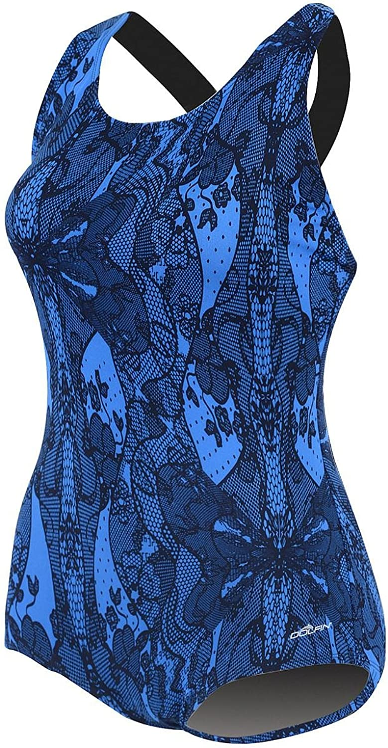 Dolfin Lacey Power Back Chlorine Resistant Swimsuit