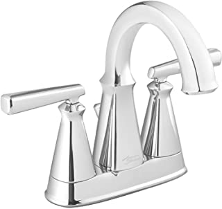 "American Standard 7018201.002 Edgemere Centerset Bathroom Faucet, 4"", Chrome"