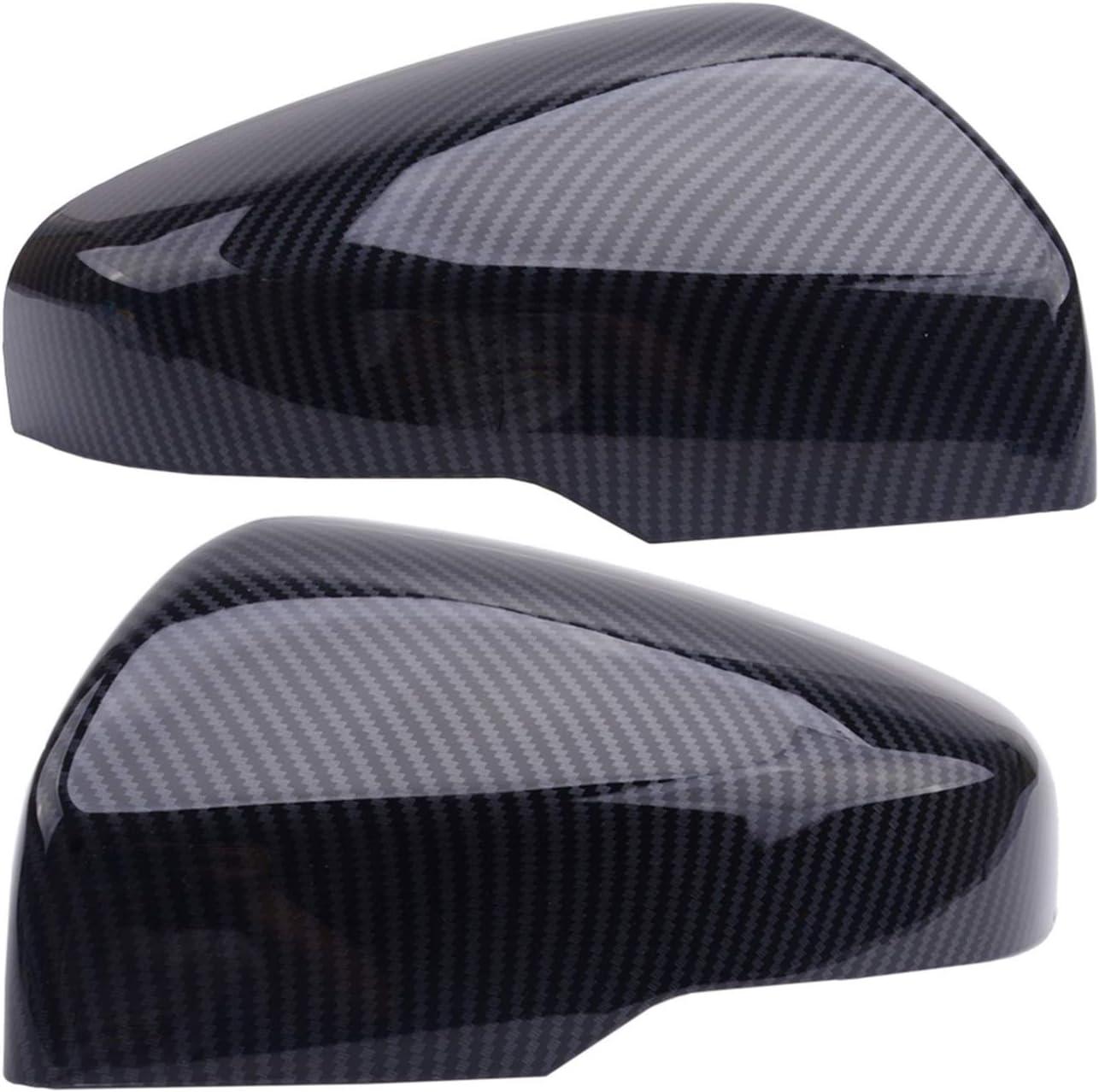 ZHUHUI quality assurance YUYANGZHI 2pcs Carbon Fiber Side Rearview Sales results No. 1 Wing Style Door