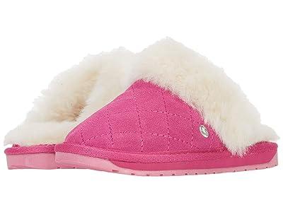 EMU Australia Kids Jolie Quilt (Toddler/Little Kid/Big Kid) (Deep Pink) Girls Shoes