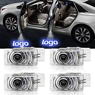 JoaSinc For Cadillac Door Lights Led Logo Projector Lights Ghost Shadow Lights Laser Welcome Courtesy Lamp for Cadillac ATS SRX XTS (4 Pack)