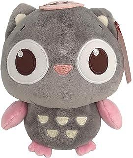 Ganeed Owl Stuffed Animals Plush Toy,Kawaii Plush Cuddly Toy Soft for Kids Children,Gray,8 Inch,1 Piece