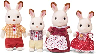 Calico Critters, Hopscotch Rabbit Family, Dolls, Dollhouse Figures, Collectible Toys