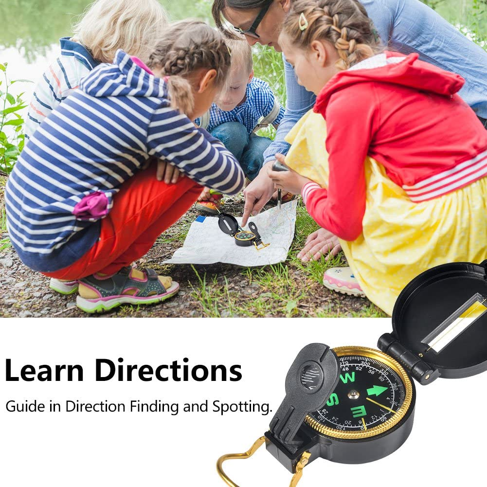 Perfect for 3-12 Year Old Boys Girls Vbest life Outdoor Exploration Set Children/'s Toy Binoculars Flashlight Magnifying Glass Compass Whistle Backpack