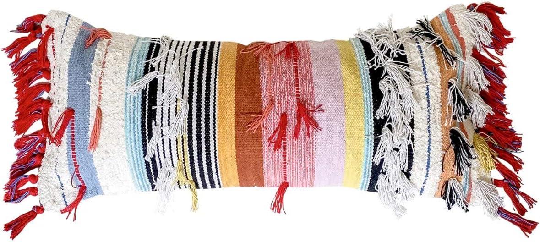 Casa Boho Year-end gift Lumbar Pillow Cover Large-scale sale Long Th Decorative Bohemian