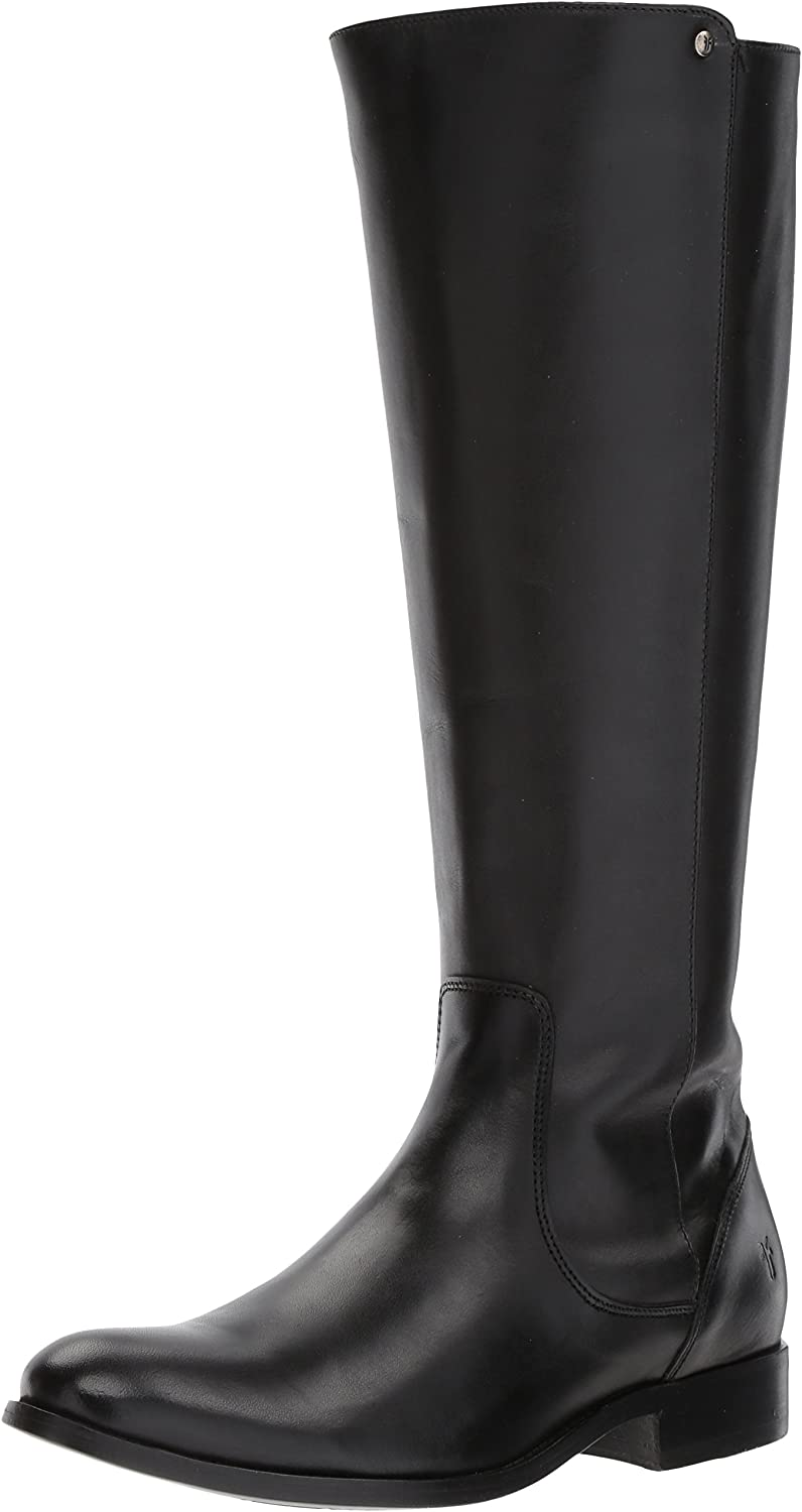 Frye Womens Melissa Stud Back Zip Riding Boot