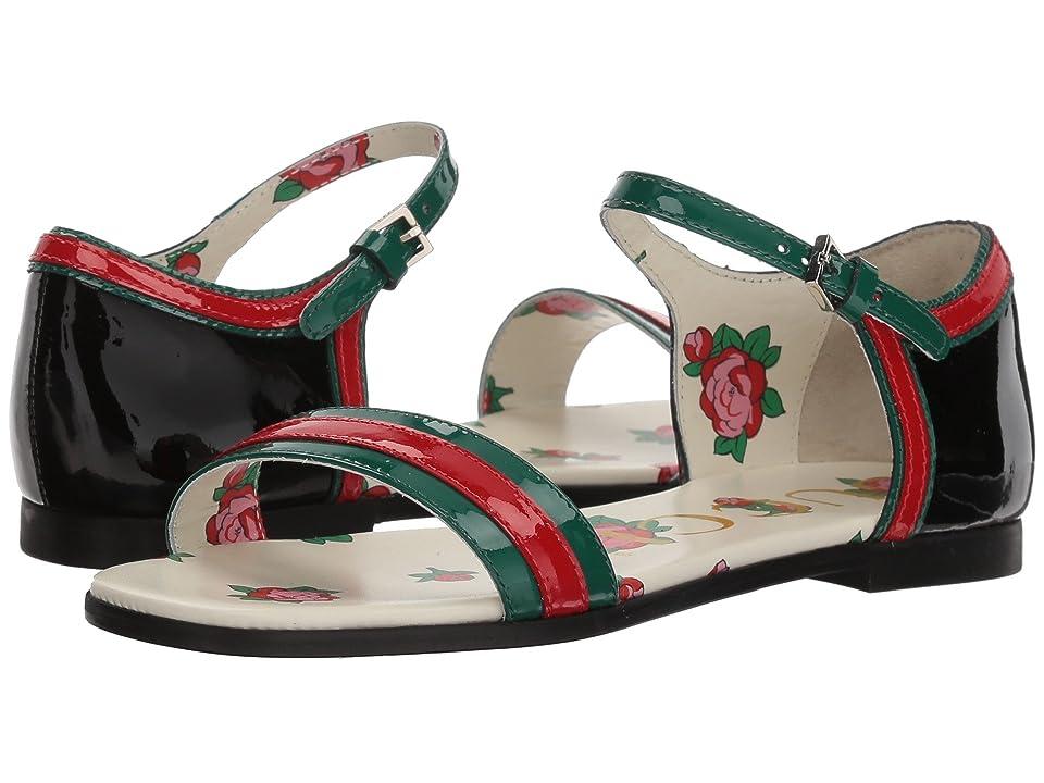 Gucci Kids Abby Sandal (Little Kid) (Emerald/Green) Girls Shoes
