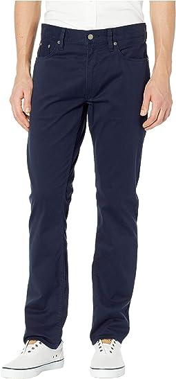 Five-Pocket Sateen Pants