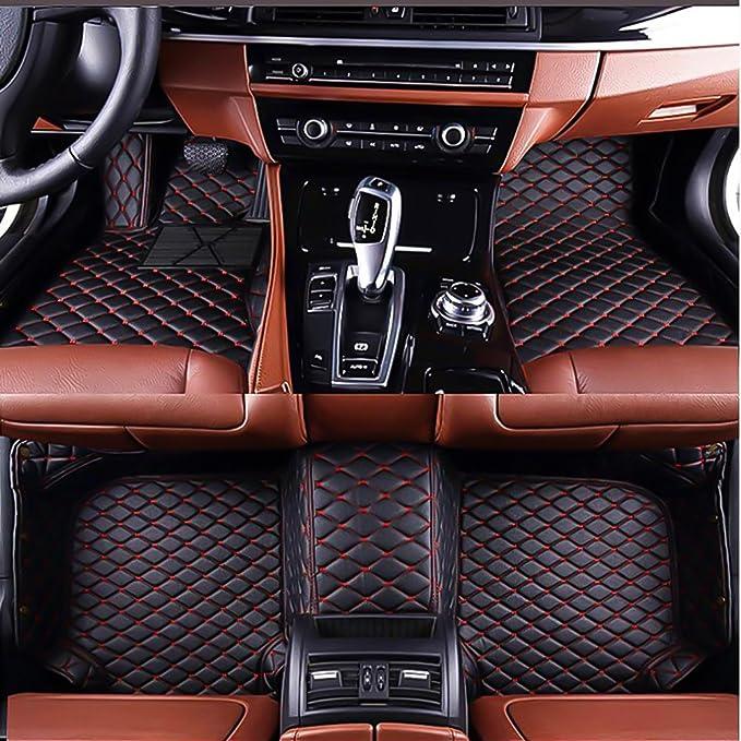 Floor mats for Maserati Ghibli Levante GranTurismo GranCabrio Spyder Coupe All-Weather Protection Waterproof Carpets Black