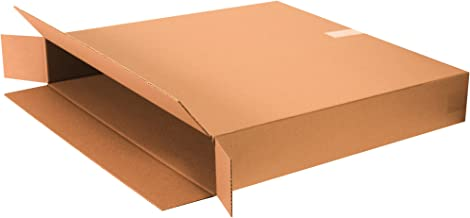 "Boxes Fast BF46830FPFOL Flat Screen TV Cardboard Moving and Shipping Box, Fits 40-46"", Kraft (Pack of 5)"
