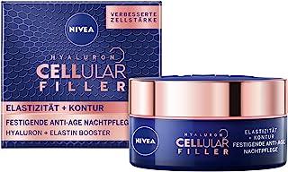 NIVEA Hyaluron Cellular Nachtcrème, Anti-Rimpel, Voor Elastische En Versterkte Huid, 50 ml