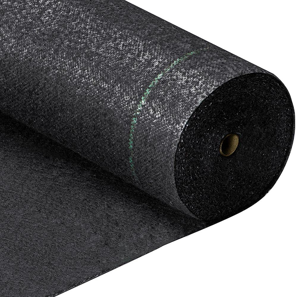 [ 5.8oz 3ft x 300ft ] Weed Barrier Landscape Fabric Heavy Duty Durable Weed Blocker Cover Outdoor Gardening Weed Control Mat Garden Driveway Ground Cover Weed Cloth Geotextile Fabric (3ft x 300ft)