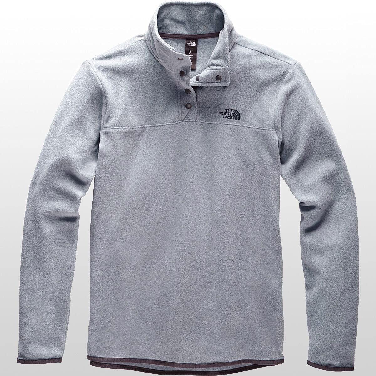 The North Face Women's TKA Glacier Snap-Neck Pullover Sweatshirt