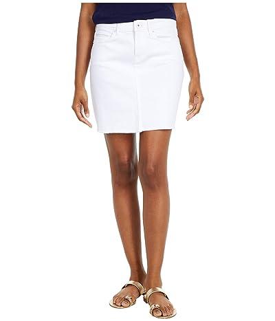 Vineyard Vines White Denim Skirt (White Cap) Women