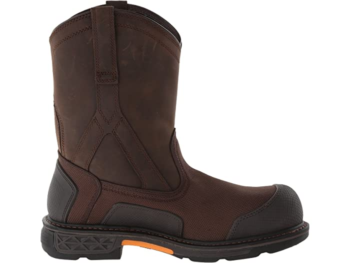 Ariat Mens Overdrive Pull-on H2O Composite Toe Work Boot