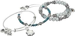Alex and Ani - Snowflake Set Of 3 Bracelet