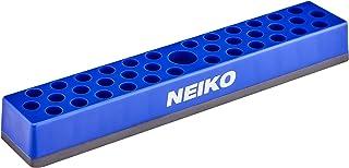 NEIKO 02401A Chave de Fenda Hex Suporte e Rack de Armazenamento | Base Magnética | Comporta até 37 Bits | Serve para Adapt...
