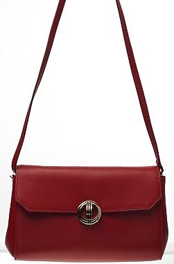 Davidoff LLG Icon Sophia Pouch- Bolso de mano (27 x 8 x 16 cm), color rojo