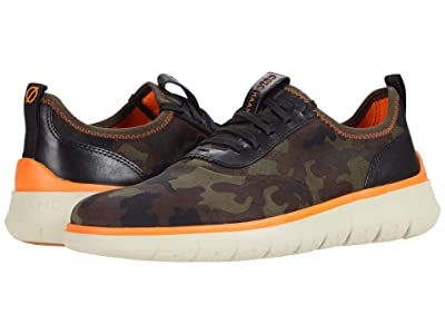 Cole Haan Generation Zerogrand (Black Olive Suede Camo Print) Men