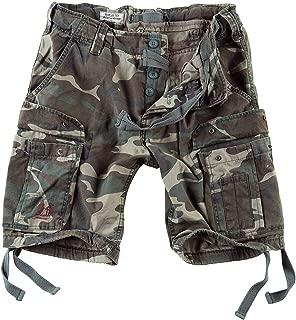 Men's Airborne Vintage Shorts Washed Woodland