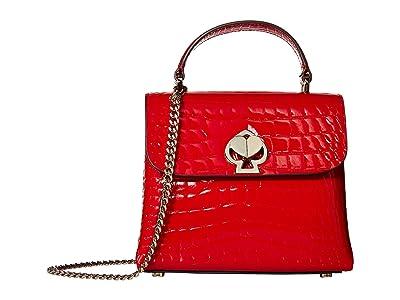 Kate Spade New York Romy Mini Top-Handle (Hot Chili) Handbags