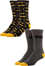 Batman 2 Pack Crew Socks Standard