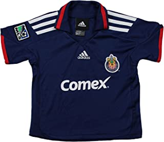 Club Deportivo Chivas USA MLS Infants Away Replica Jersey Polo Top, Blue