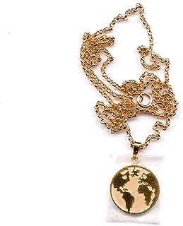 ريفرميشن - قلادة كرة أرضية مطلية بالذهب
