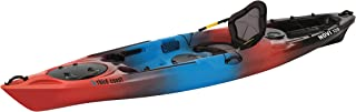 Third Coast Novi 120 Sit On Recreational Kayak (Blue/Red Hot/Black)