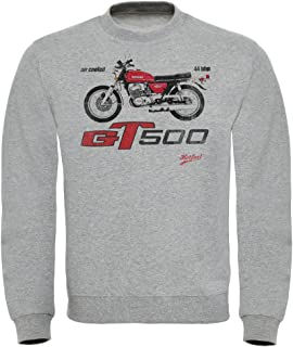 Hotfuel Men's GT500 Motorbike Print Sweatshirt