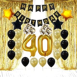 happy 40th birthday decorations