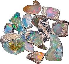Oooak by Virat Ópalo Natural de Cristal de ópalo Rugoso, Roca de ópalo etíope áspera, Gema de ópalo Natural, espécimen de ópalo, Suministro de ópalo
