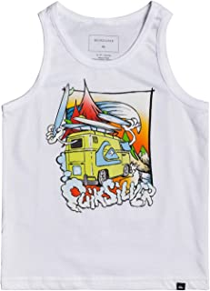 Wes and Willy Little Boys Palm Pineapple Tank Top