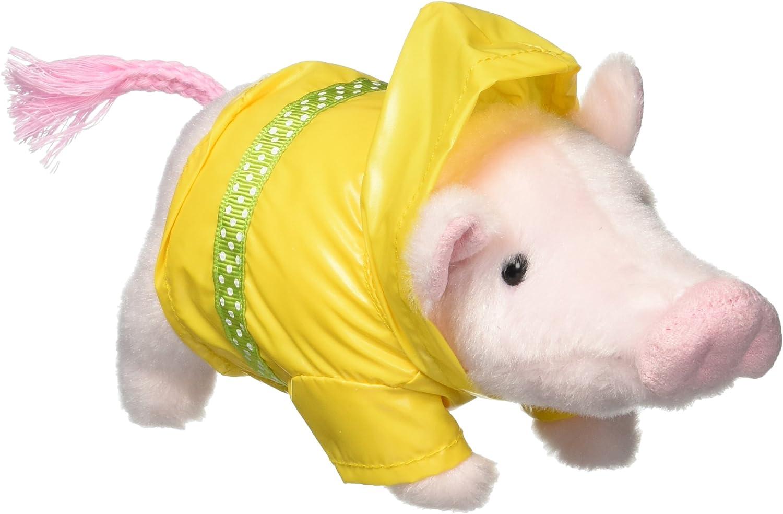 GUND Pop Raincoat Mini Pig Stuffed Animal Plush