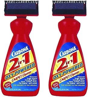Carbona 2-in-1 Carpet Cleaner, 27.5 Fl Oz (Pack of 2)