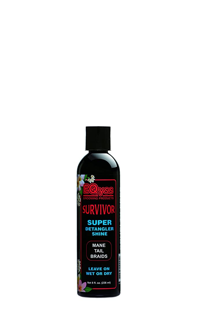 Eqyss Survivor Equine Detangler - Perfect for Manes, Tails, Braids, or Feathered Legs … mmkygpw793798