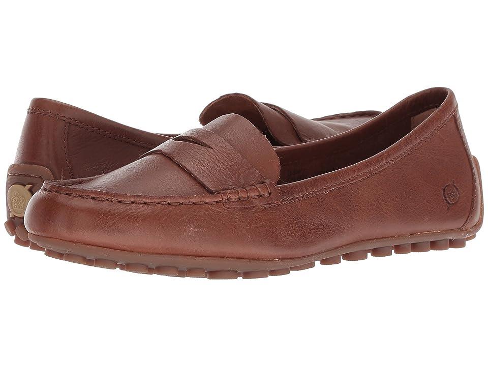 Born Malena (Light Brown Full Grain Leather) Women