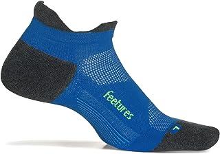 Feetures, ! (marca)Calcetines Max Cushion (amortiguación) unisex de running - Azul - S