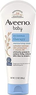 Aveeno Baby Eczema Therapy Moisturizing Cream 7.3 Oz