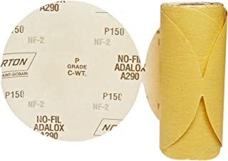 Grit P80 Coarse Pack of 25 6 Diameter Paper Backing Norton 07660701636 Hook and Sand Universal Vac Hole Abrasive Disc with Hook and Loop Attachment Aluminum Oxide 6 Holes