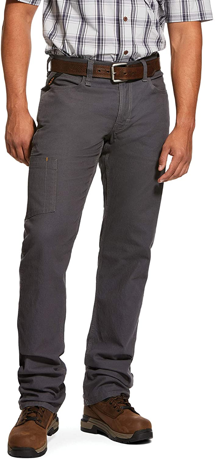 ARIAT Regular store Rebar M4 Low Rise DuraStretch Straigh Direct stock discount Tough Stackable Made