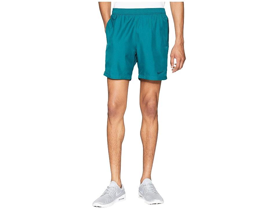 Nike Court Dry 7 Tennis Short (Rainforest/Midnight Spruce) Men