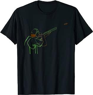 Clay pigeon shooting sport T-shirt Tee Tees T Shirt Tshirt
