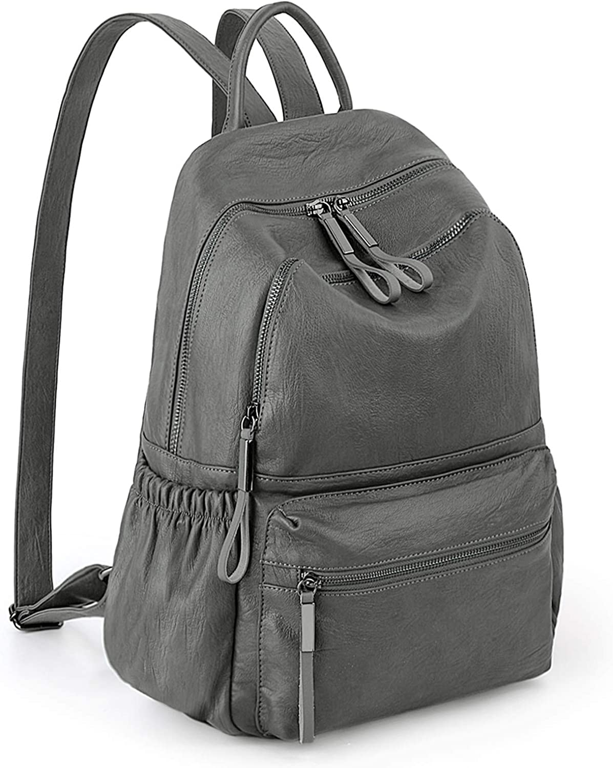 Backpack Purse for Women PU Leather Bagpacks Ladies Purse Waterp