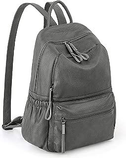 Women Backpack Purse Ladies Rucksack School Shoulder Bag for Girls PU Leather/Nylon Version UTO