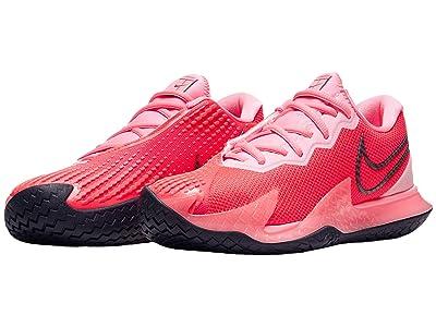 Nike NikeCourt Air Zoom Vapor Cage 4 (Royal Pulse/Obsidian/White/Sunblush) Women