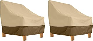 Classic Accessories Veranda Patio Deep Seat Lounge Chair Cover (2-Pack)