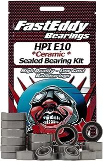 HPI E10 Ceramic Rubber Sealed Ball Bearing Kit for RC Cars